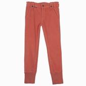 Matière : Coton Pantalon rib 2 poches avant 2 poches arrière