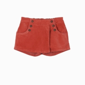 Material : velvet Skirt short Available in blue, red and