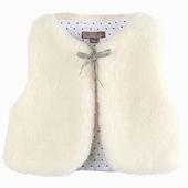 Matière : laine Vestes sans manches Disponible en coloris