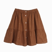 Material : cotton Skirt with handmade mukesh Available in