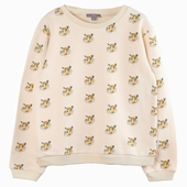Material : cotton Sweatshirt Exclusive print sledge on the