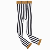 Material : cotton Striped legging Available in black and fox