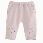 Material : cotton fleece Trousers Available in wood and