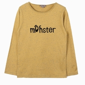 Material : cotton Long sleeves t-shirt Monster in loop