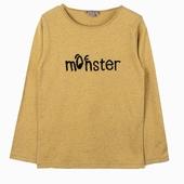 Matière : coton T-shirt à manches longues Broderie bouclette