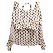 Sac fille Print exclusif en all over, fermeture pression et