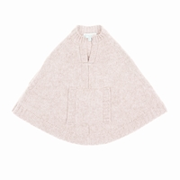 baby foncho pale pink Bleucommegris