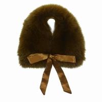 accessoires fox scarf chocolate Bleucommegris