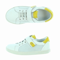 chaussures gaby white Bleucommegris