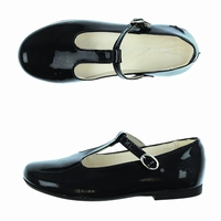 shoes galina black Bleucommegris