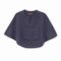 naissance poncho violet Bleucommegris