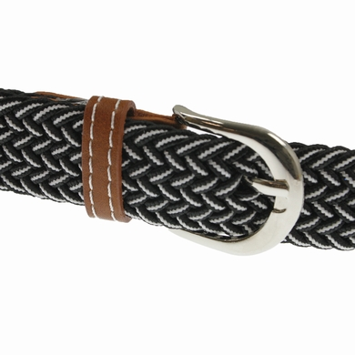 ceinture elastique black white accessoires