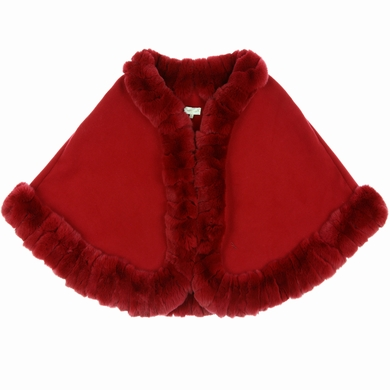 manteau fourrure red fille