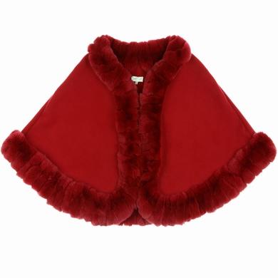 manteau fourrure red girl