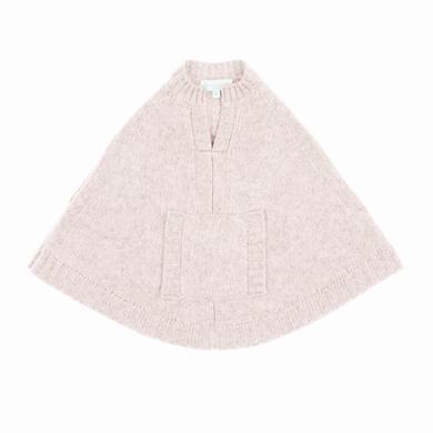 poncho bebe pale pink bebe