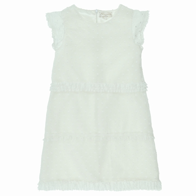 robe couture white fille