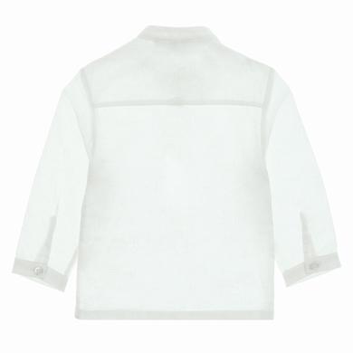 chemise blanc bebe