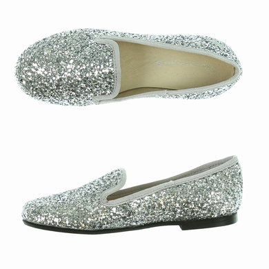 mocassin silver chaussures