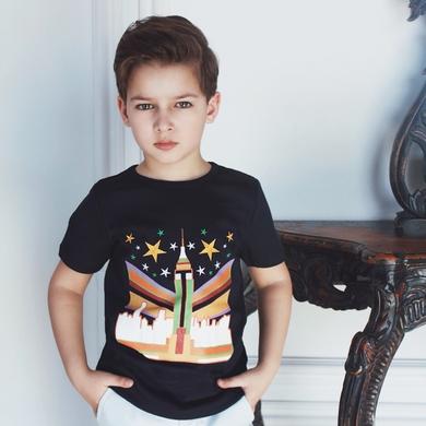 tee-shirt navy garcon