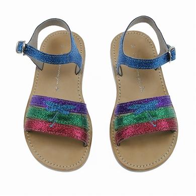 sandales multi glitter chaussures