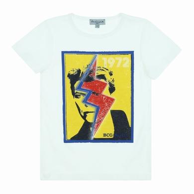 tee-shirt white garcon