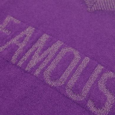 pull sans manches violet fille