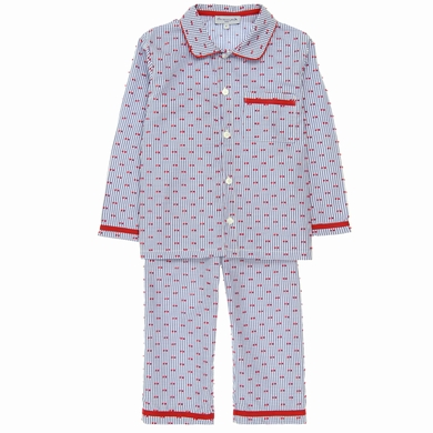 pyjama garcon dots red homewear