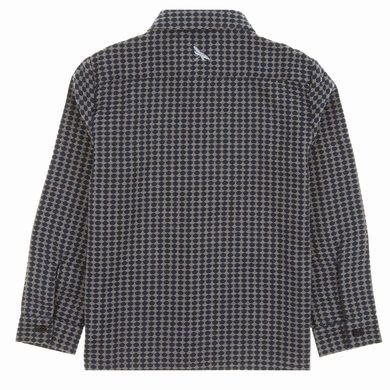 chemise dots navy garcon