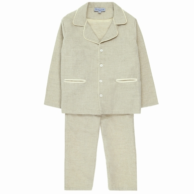pyjama garcon beige homewear