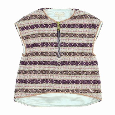 blouse pink fille