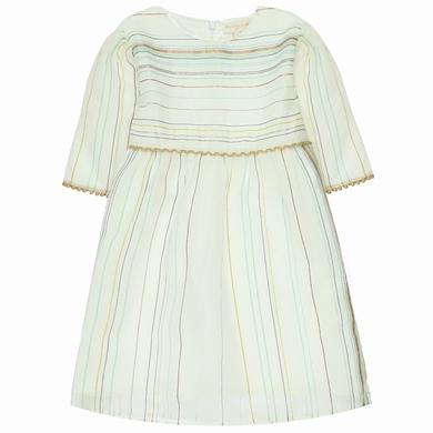 robe organza  white fille
