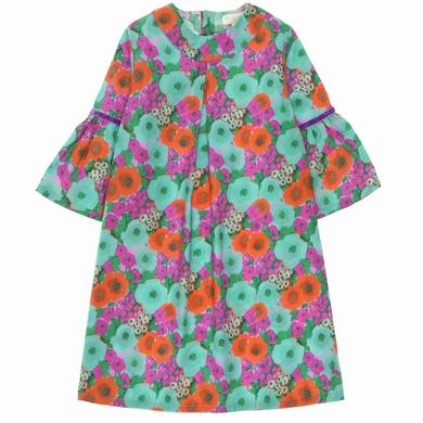 robe big flowers fille