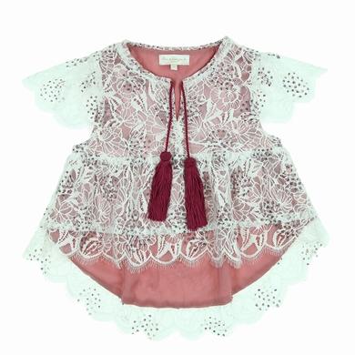 blouse white fille