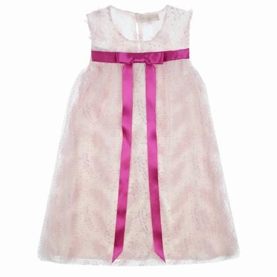 robe noeud pink fille
