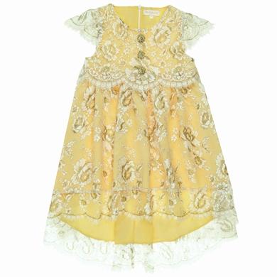 robe dentelle  milk gold fille