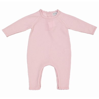 baby overall pale pink baby