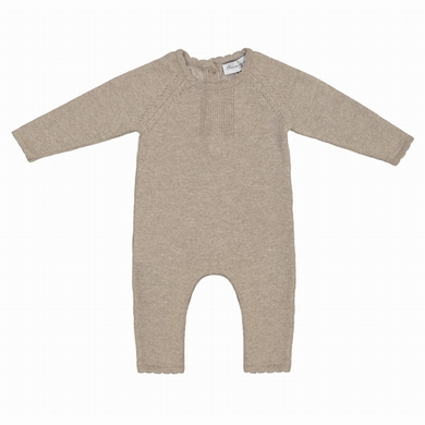 baby overall taupe baby
