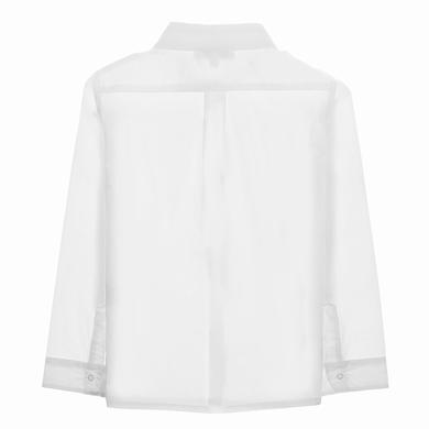 chemise white garcon