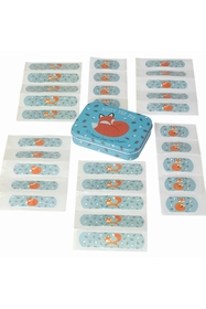 Set of 30 Dolly Girl assorted, latex free childrens plasters