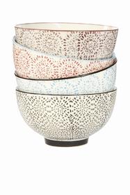 De jolis bols fleuris pour servir des petits gâteaux ou pour