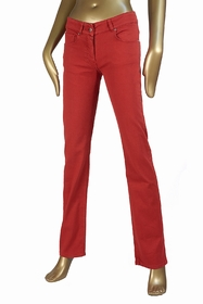 pantalon 5 poches, coupe droite, taille semi basse pour une