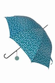 Parapluie. 8 rayons ossature métallique, poignée PVC,