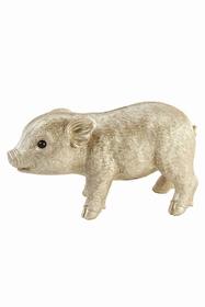 Ce petit cochon vous portera bonheur ! 26 x 15 x 10 cm.