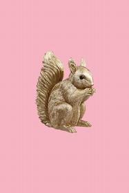 Trop craquant ce petit écureuil !! Tirelire. Hauteur 16 cm