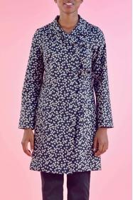 Manteau léger tissu imprimé au japon, motif d'inspiration