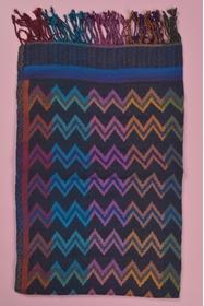 70x180 cm. 90% laine - 10% coton. accessoire fabriqué en