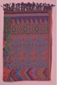 70X180 cm. 60% coton - 40% laine. accessoire fabriqué en