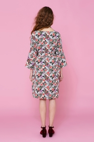 Robe large à motifs traditionnels japonais pouvant se porter