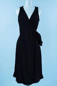 Une robe cache coeur sexy au tombé élégant petit Volant