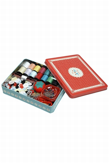 Vintage Doily Deluxe sewing kit, for all your sewing needs